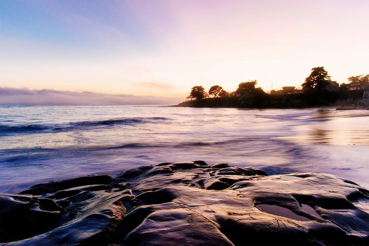 Fuscian Hour Santa Cruz, CA - landscape - neonicecream | ello