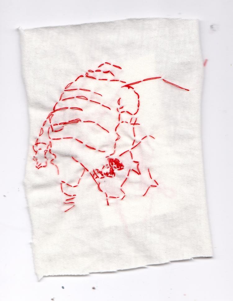 Thread Drawing - art, embroidery - jlanthony | ello