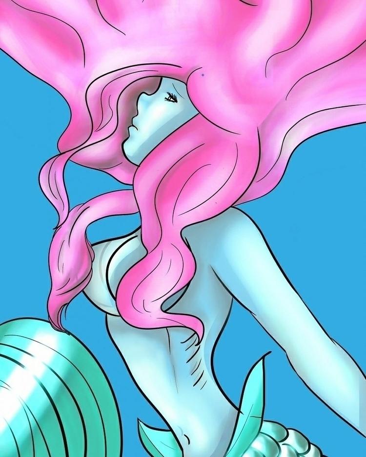 Lonely Mermaid - velvet_nightshade | ello