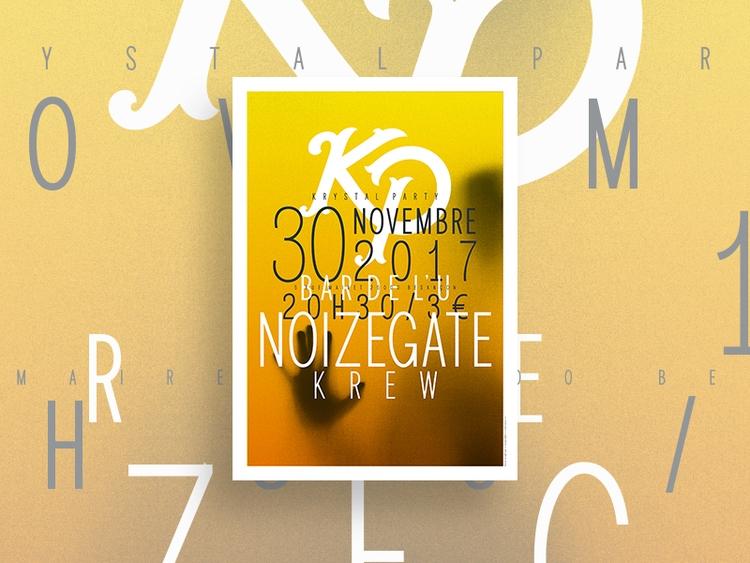 Poster designed party city. Let - viktorvuka | ello