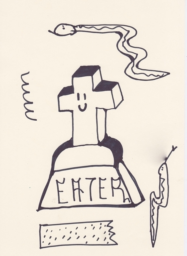Eater (WIP) ink paper 2016 - basco - bascofive | ello