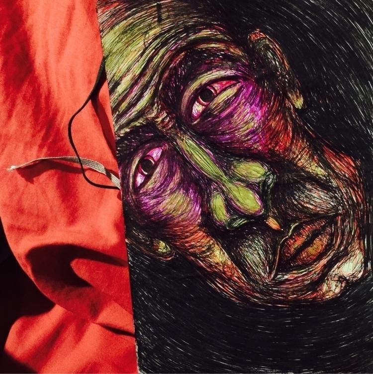 witch doctor - sketchbook, witchdoctor - mori_illustration | ello