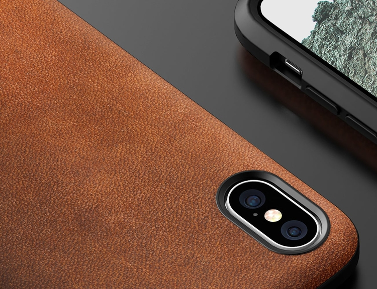 Nomad Rugged Leather iPhone Cas - gadgetflow | ello