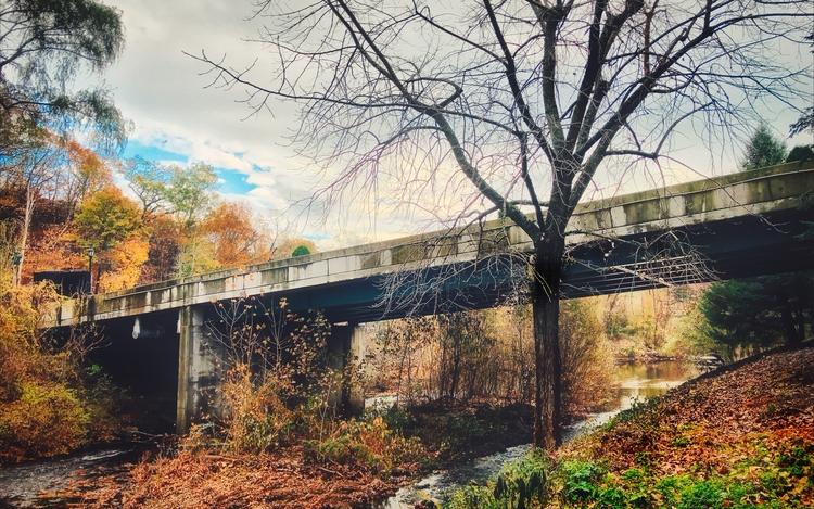 Silvermine River, Norwalk CT We - photografia | ello