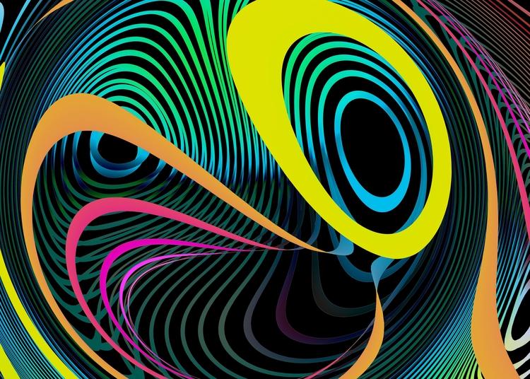 digital artist fascinated geome - sphericalart | ello