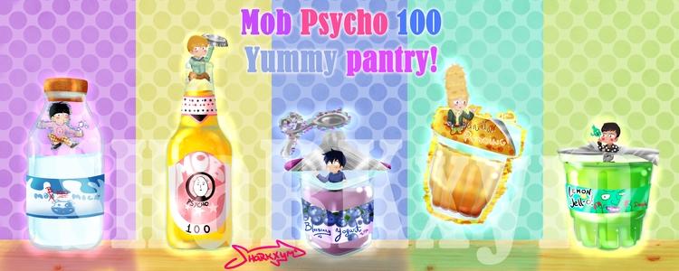 small Mob Psycho 100 -MP100- ch - sharkxym   ello