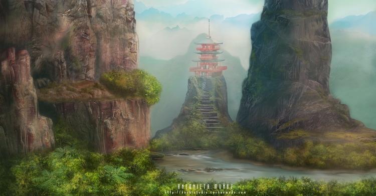 Temple sky - kuukistudio | ello