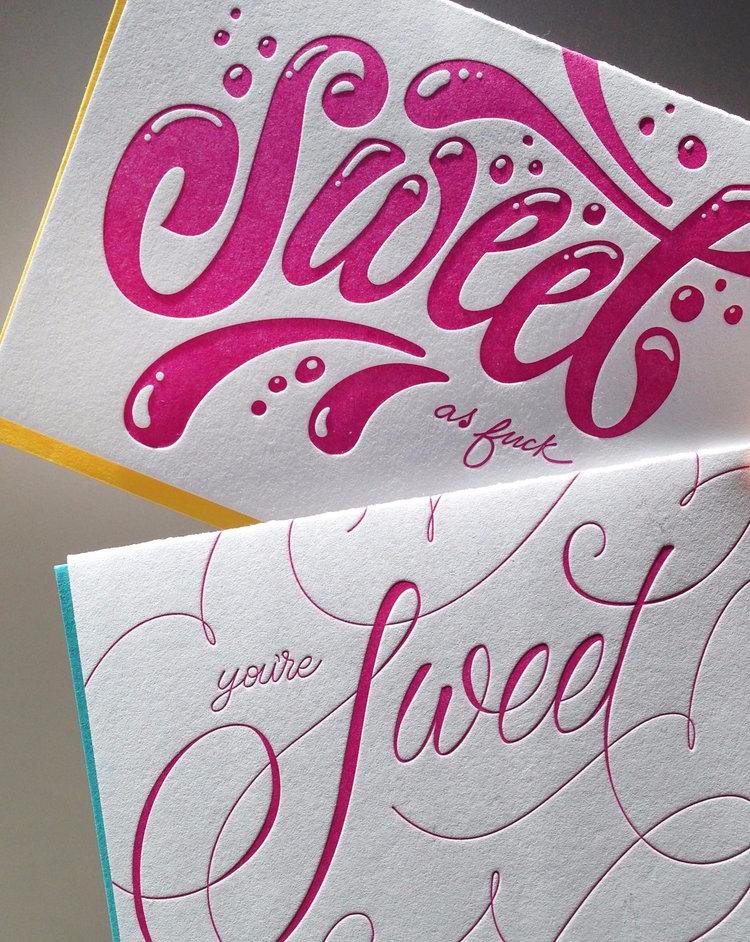 design specifically cards - lettering - judithmayer | ello