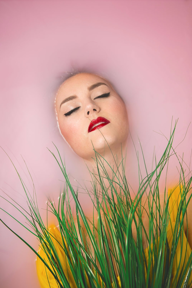 HMUA/Model: Mary-ann Jones - milkbath - olgieshmolgie | ello