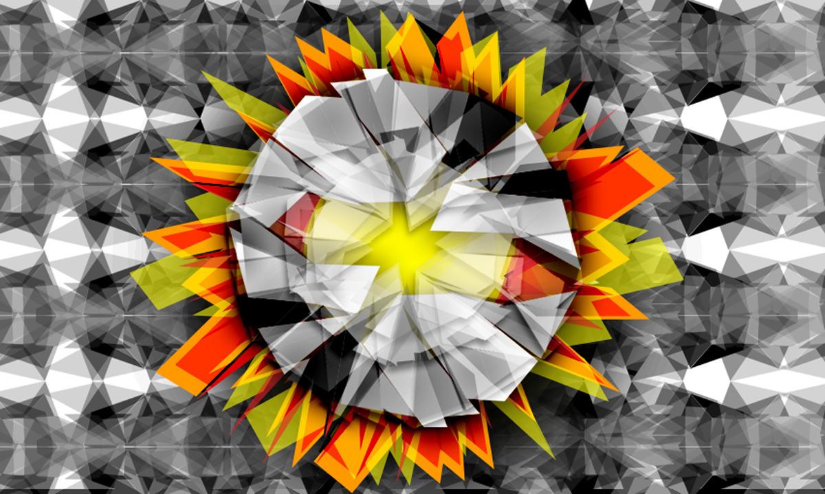 Crystal-Poly-Flower: photoshop  - bijutoha | ello