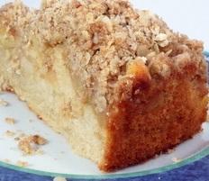 Apple Creamcheese Coffeecake - Recipes - recipesbysara | ello