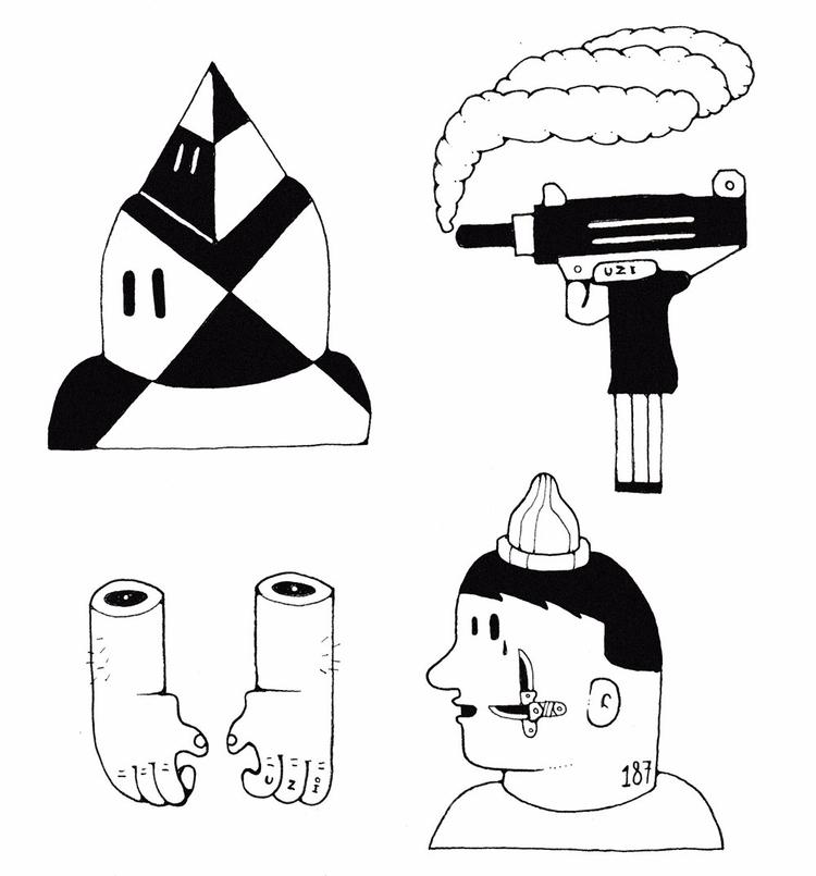 Uzi 187 ink paper 2017 - basco, bascofive - bascofive | ello
