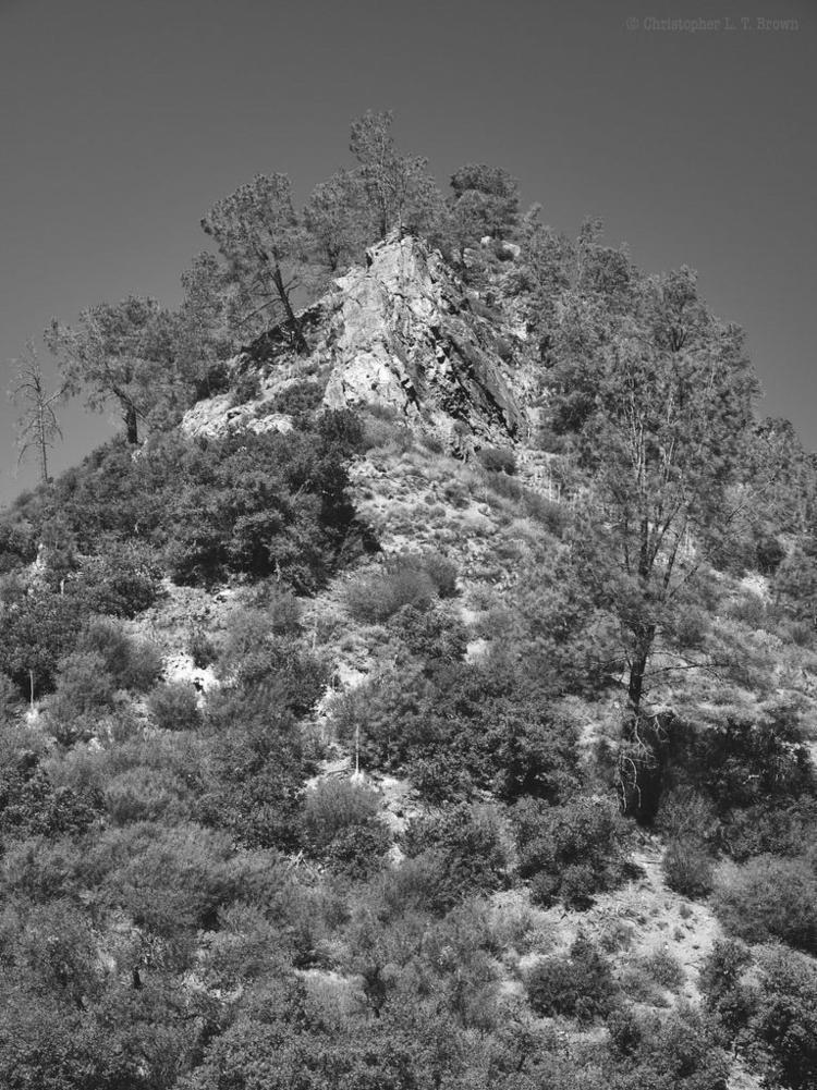Rocky Peak - monochrome, Landscapes - tychobrown | ello