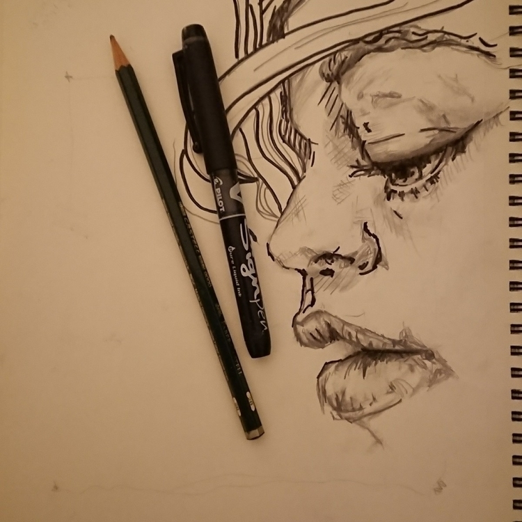 dont Insta - girl, sketch, facialexpression - major_town | ello