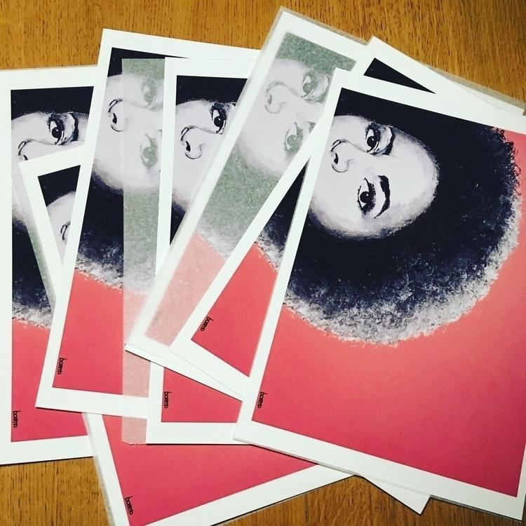 Foxy Brown prints Fresh super l - boemo   ello