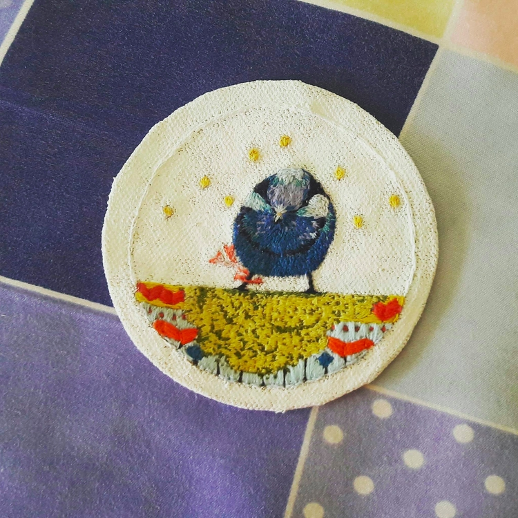 small handmade embroidery work - allieyiling | ello