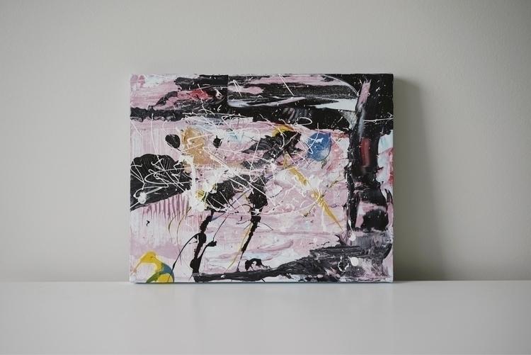 01 - acrylic, painting, modern, modernart - roberthaverly | ello