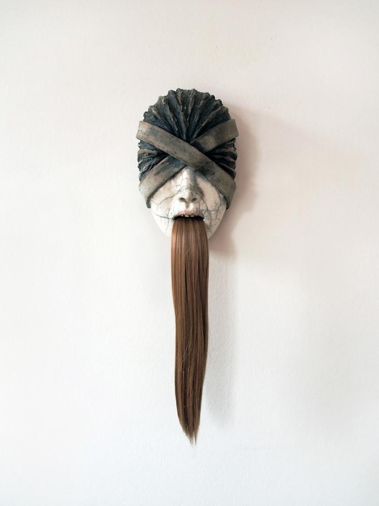 Funny Games (Mask) - ceramic sc - lidiakostanek   ello