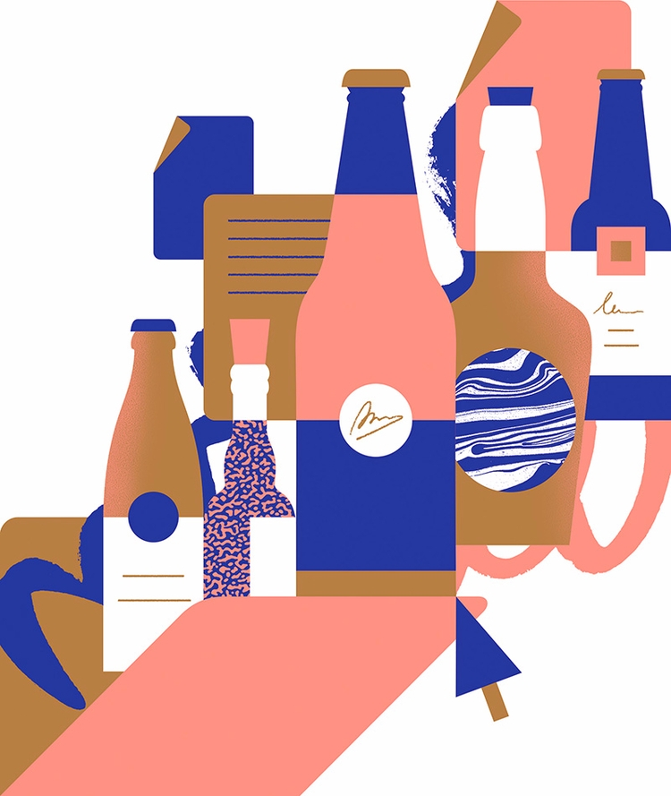Beer folder - illustration, artwork - alconic | ello