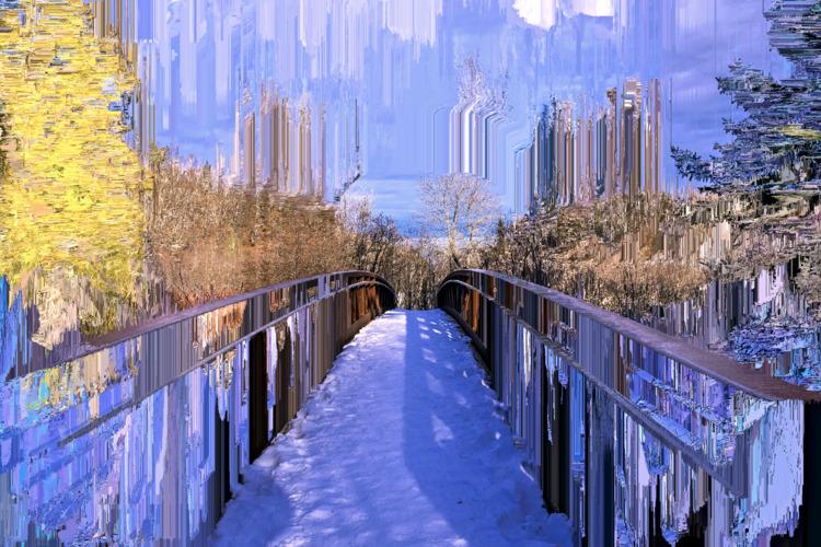 bridges - glitch, nature, jitter - jazer | ello