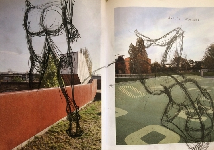 illustration, intervention, pencil - amandaobara | ello