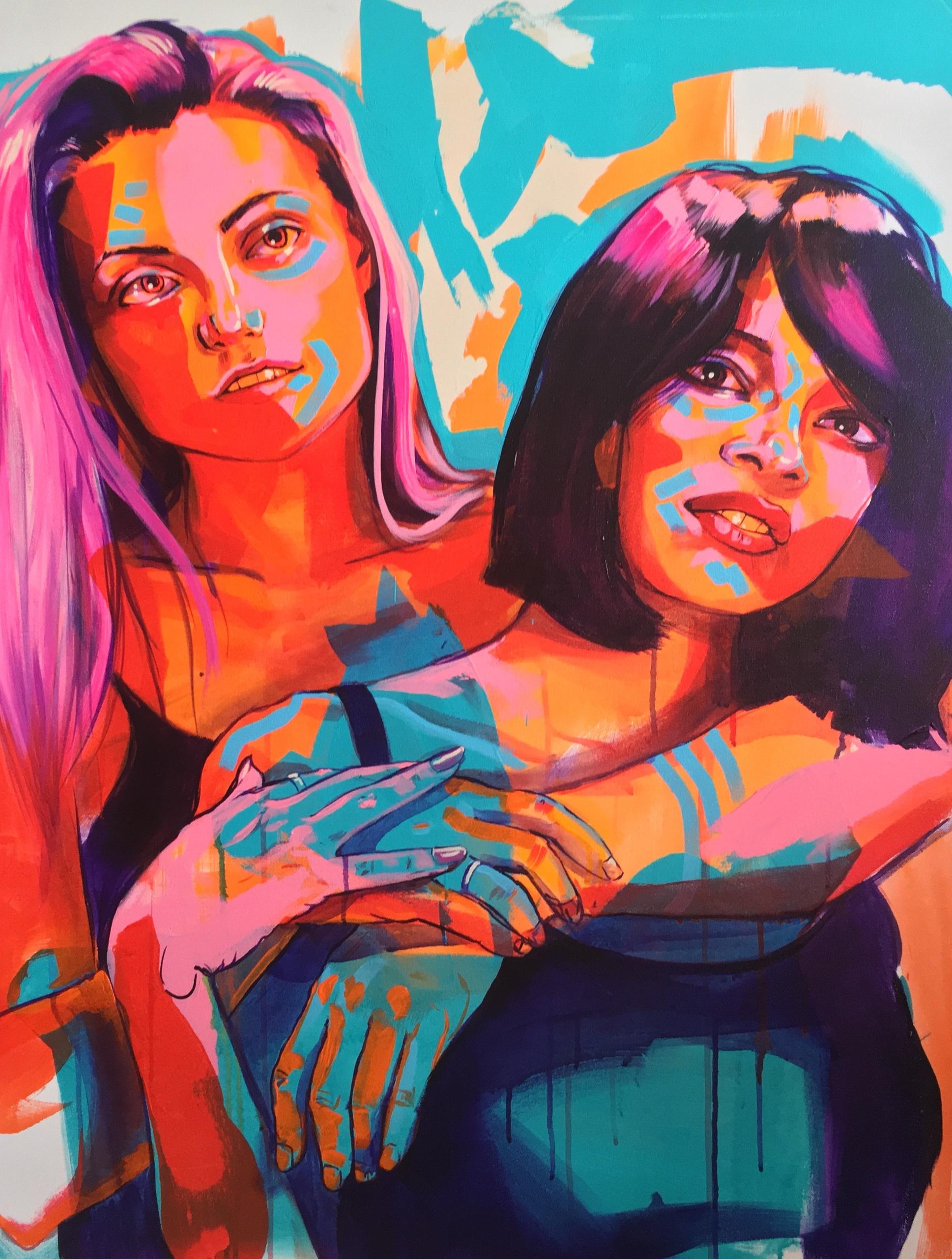 'Faith' 30x40Acrylic Canvas 'AJ - thetracypiper | ello