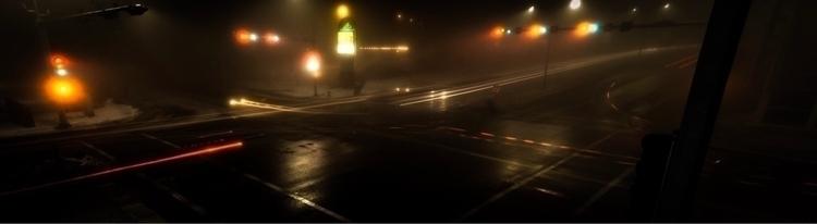 night dark full traffic lights - kreskinsfolly | ello