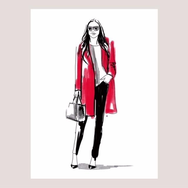 Illustrations fall fashion Foll - nadinebatista | ello