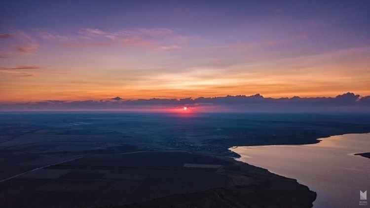 photography, aerialphoto, sunset - pixelcore | ello