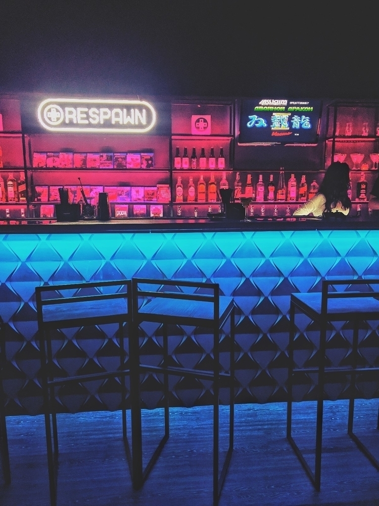 respawn, bar, neon - oblepiha | ello