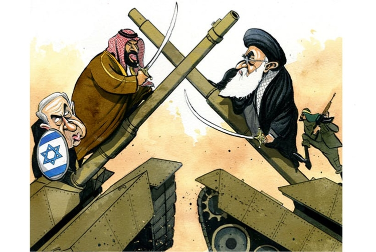 Saudi Arabia Israeli Alliance T - batr | ello