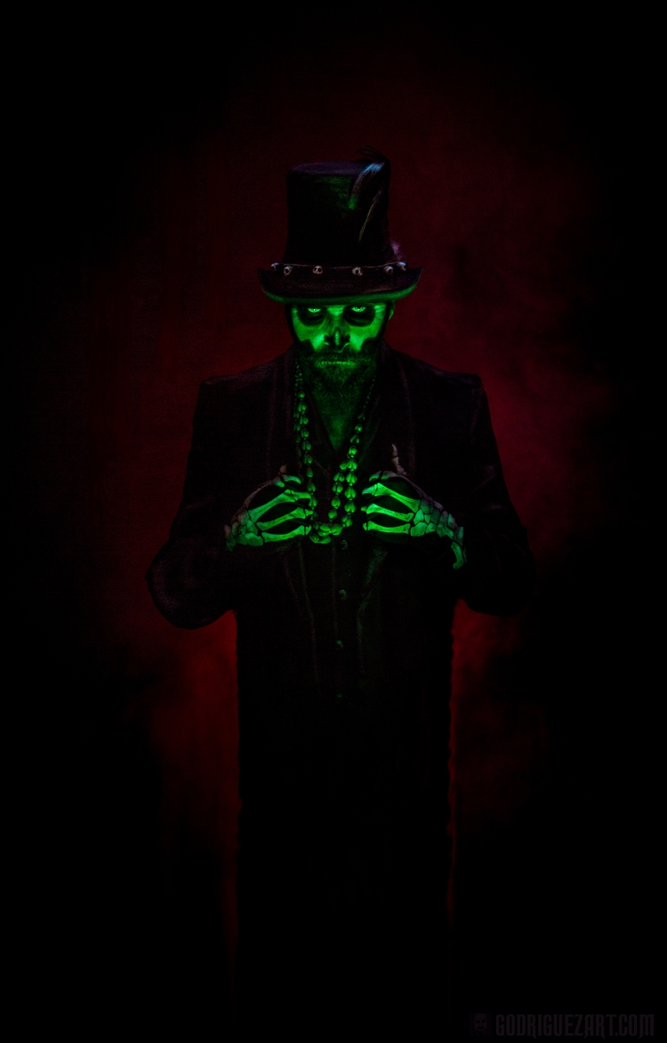 voodoo portrait - markrodriguez - godriguezart | ello