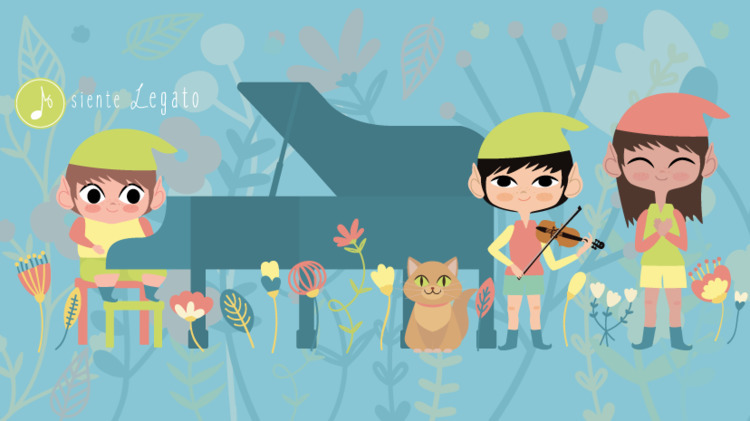 Elves - illustration, vector, mascots - lydilena | ello
