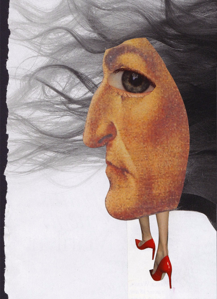 Wind. handmade collage, Novembe - ewalook | ello