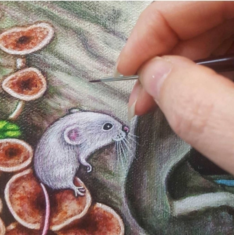 small detail cute mouse great b - brandymasch | ello