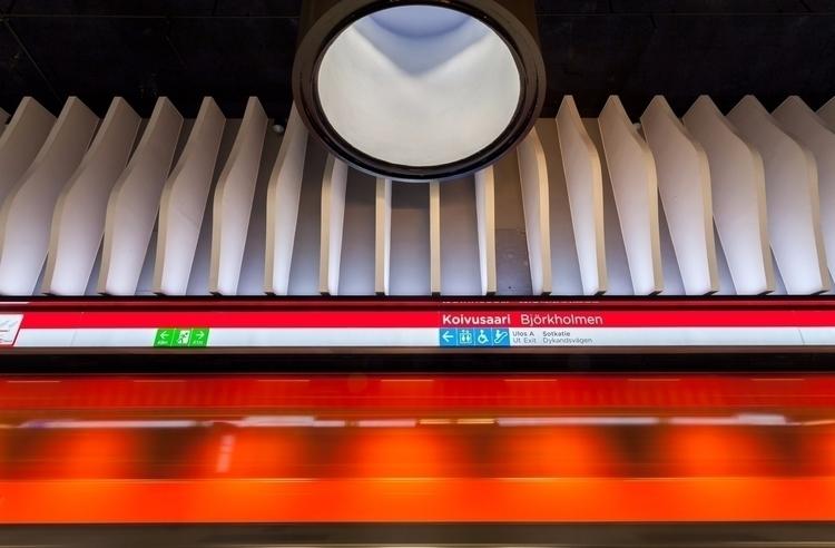 metro station - photography, finland - anttitassberg | ello