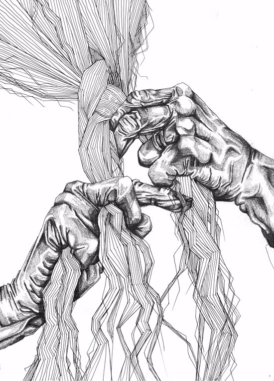 Newbie Artist! Braiding Hands P - laramesanzaburke | ello