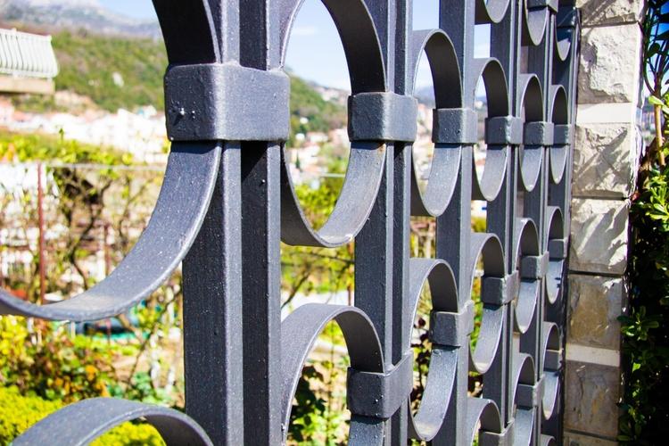 Black Ornamental Fences Aruvil  - aruvilinternational | ello