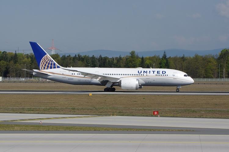 United Airlines, B787-8, Frankf - brummi | ello