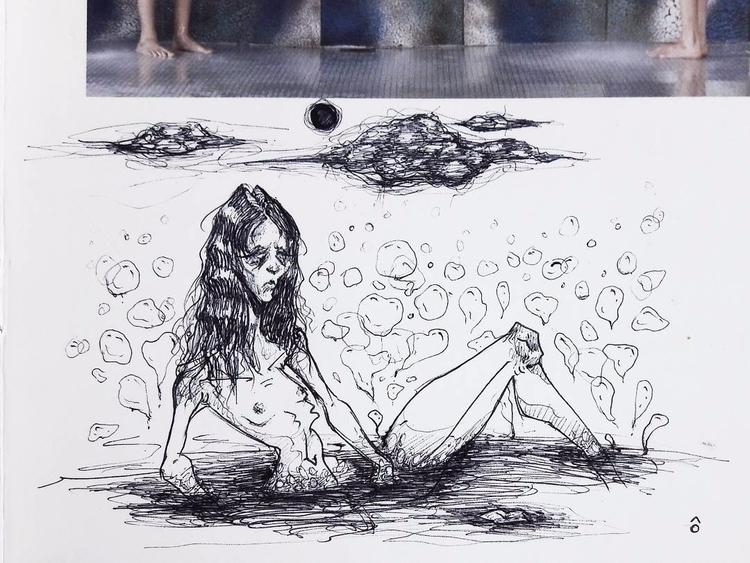 swamp disgust ballpoint pen pho - afuli | ello