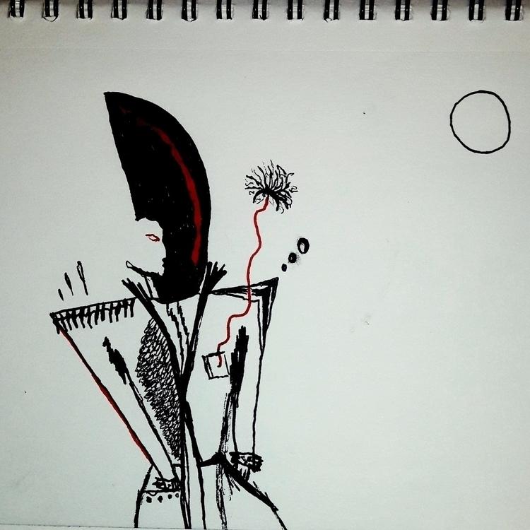 NAPOLEON - sketch, sketchbook, draw - kymia   ello