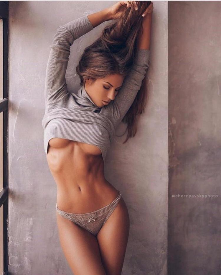 tits, body, brunette, nsfw - guermo | ello