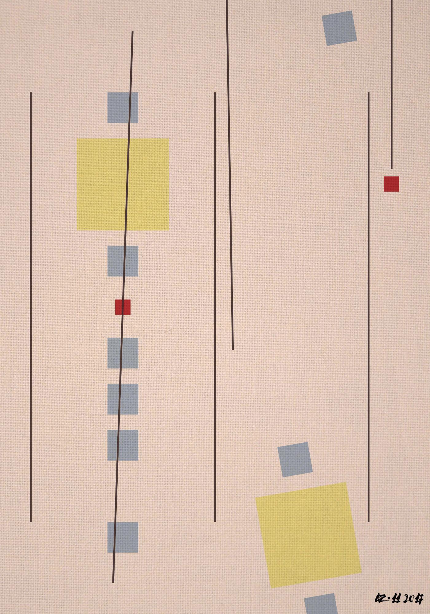 composition-32 - art, contemporary - gfgalli | ello