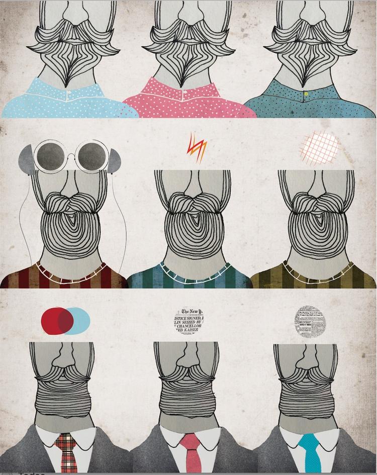 Beards. Serie Style - beard, style - paullataburu | ello