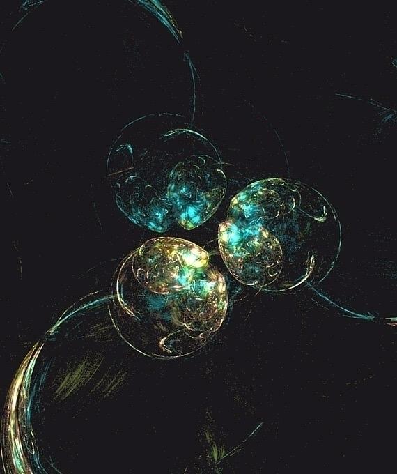 vector experiment - fractals, 3D - d8h | ello