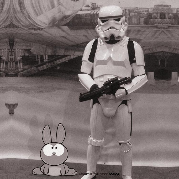 friendly - bunny, wizebunny, art - wizebunny | ello