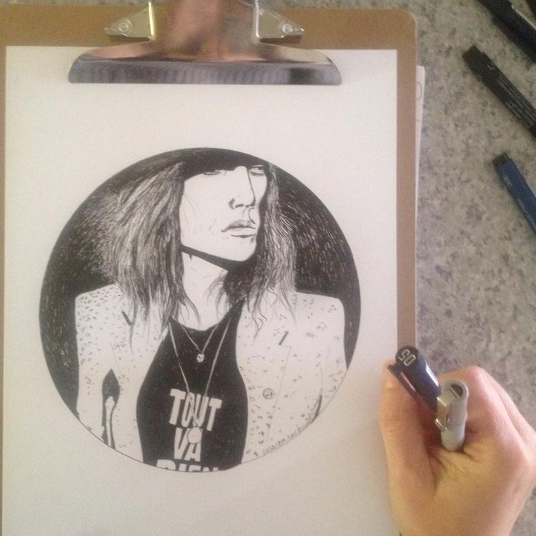 Encre noire sur papier | Patti  - lamaskarad | ello