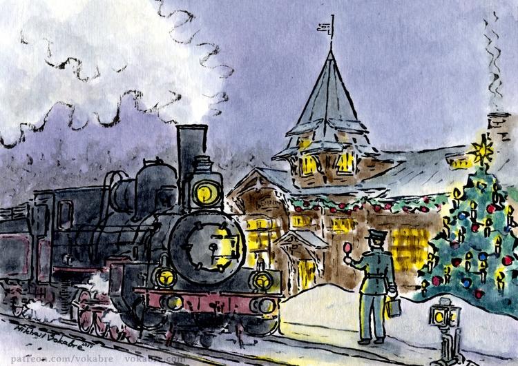 Station, engine, switch, snow 2 - vokabre | ello