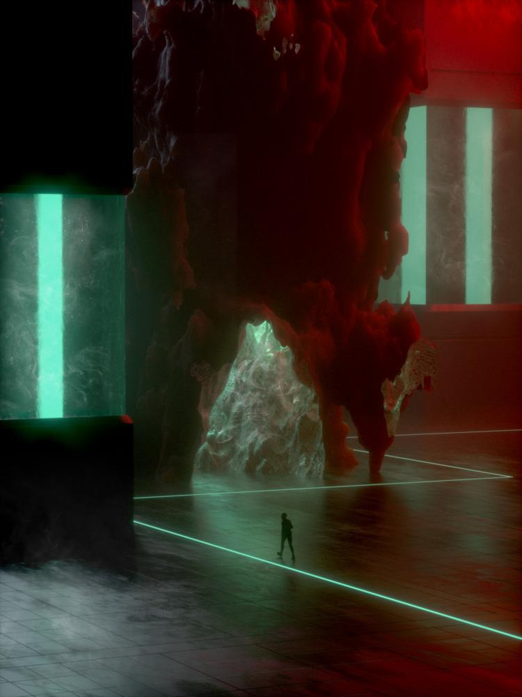 • Ziggurat - cinema4d, c4d, maxon - skeeva   ello