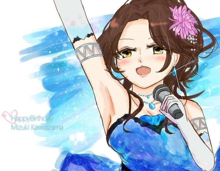 Happybirthday dear Mizuki Kawas - momonow | ello